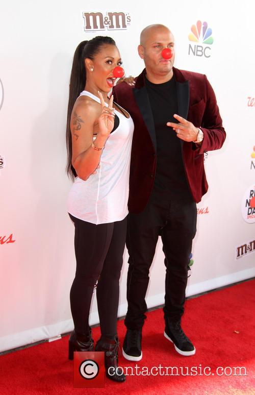 Mel B and Husband Stephen Belafonte 1
