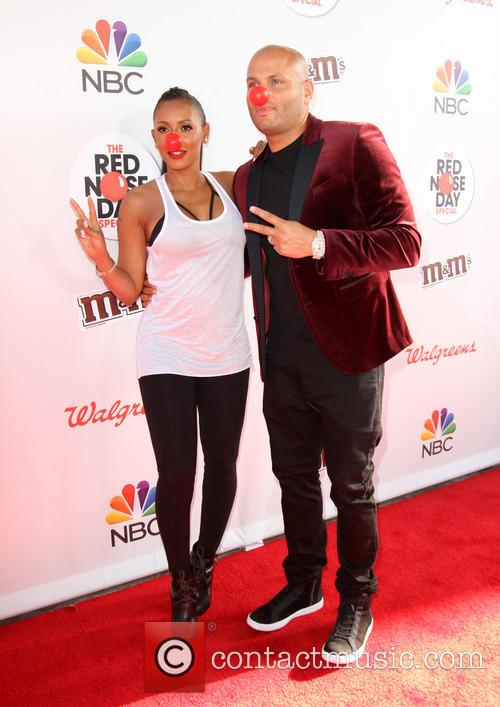 Mel B and Husband Stephen Belafonte 2