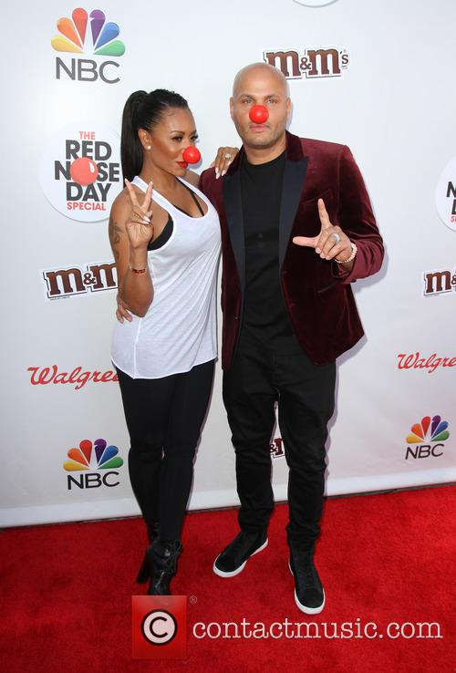 Mel B and Husband Stephen Belafonte 7