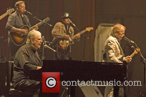 Brian Wilson performs at the Glasgow Royal Concert...