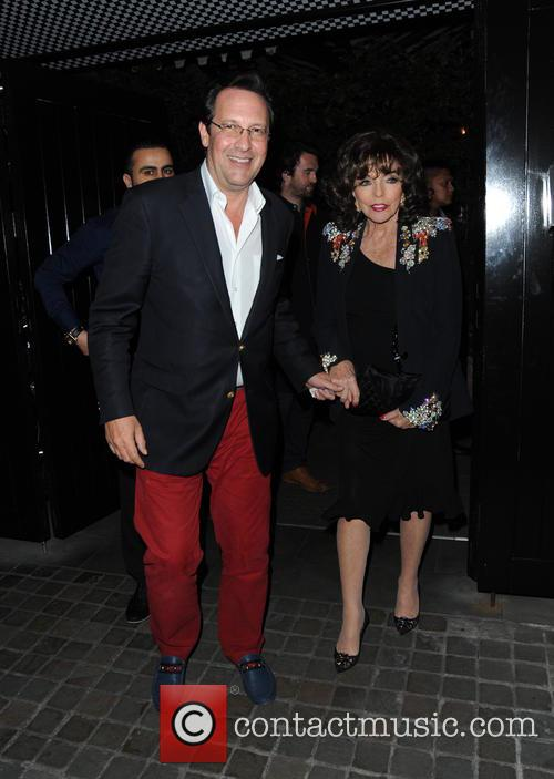 Joan Collins and Percy Gibson 5