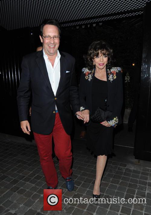 Joan Collins and Percy Gibson 10