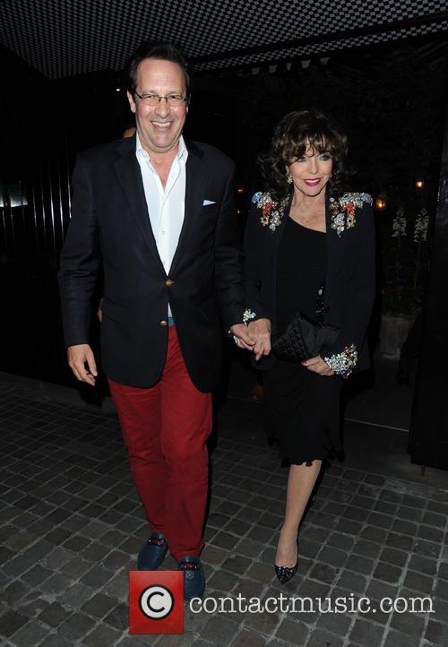 Joan Collins and Percy Gibson 11
