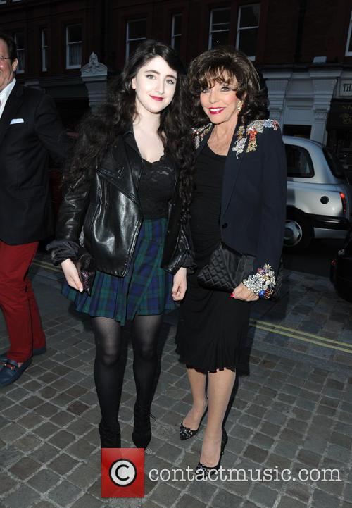 Guest and Joan Collins 5