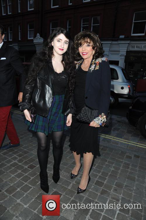 Guest and Joan Collins 6