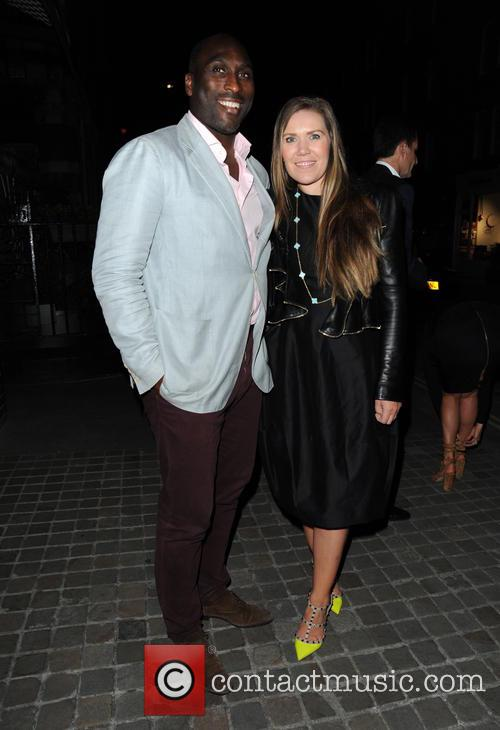 Sol Campbell and Fiona Barratt 2