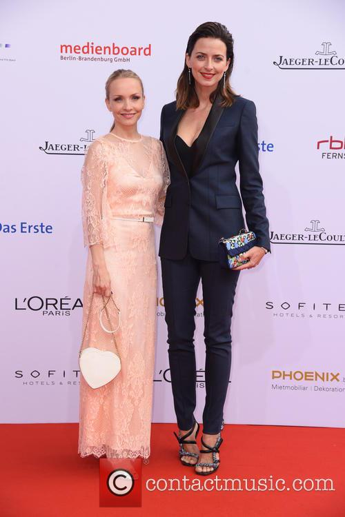 Janin Reinhardt and Eva Padberg 2