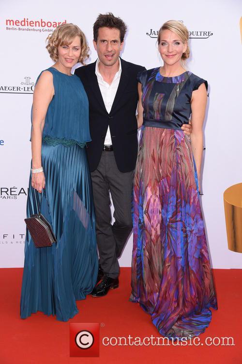 Gesine Cukrowski, Oliver Mommsen and Tanja Wedhorn 2