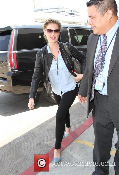 Katherine Heigl and her mother Nancy Heigl arrive...
