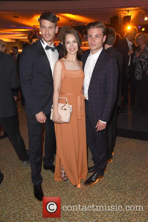 Vladimir Burlakov, Paula Beer and Jannik Schuemann 4