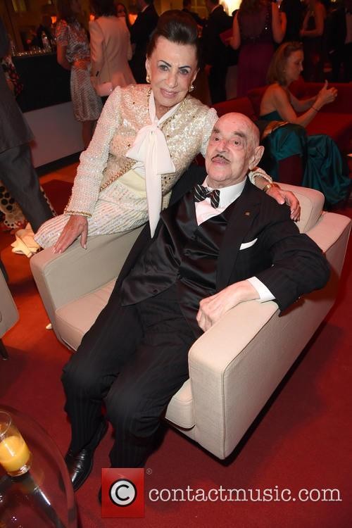 Maria Brauner and Artur Brauner 1