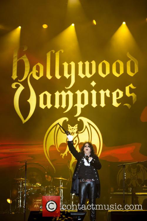 Alice Cooper and Hollywood Vampires 1