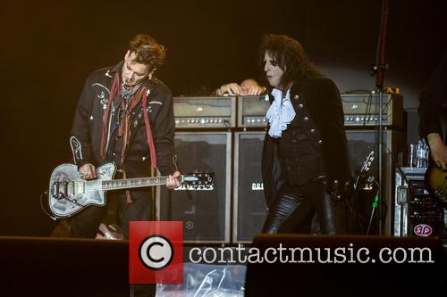Alice Cooper, Johnny Depp and Hollywood Vampires 4