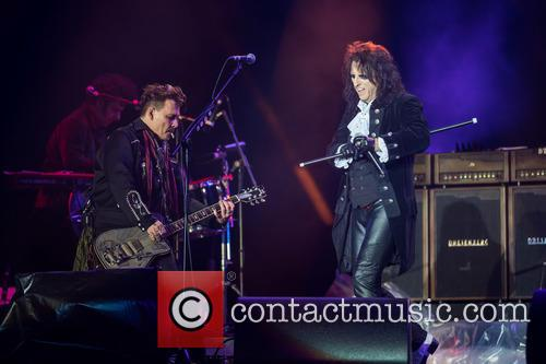 Alice Cooper, Johnny Depp and Hollywood Vampires 5