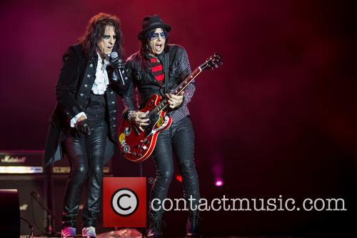Alice Cooper, Tommy Henriksen and Hollywood Vampires 11