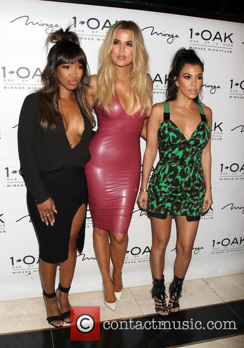 Malika Haqq, Khloe Kardashian and Kourtney Kardashian 2