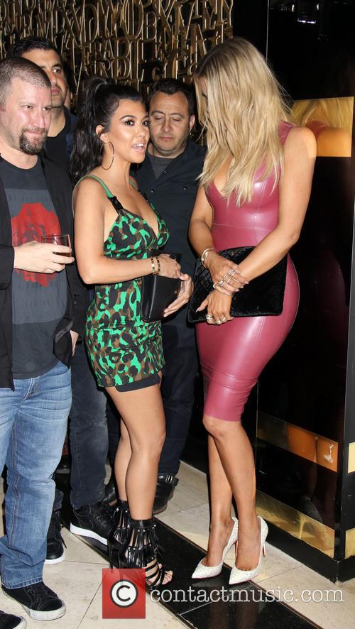 Khloe Kardashian and Kourtney Kardashian 4