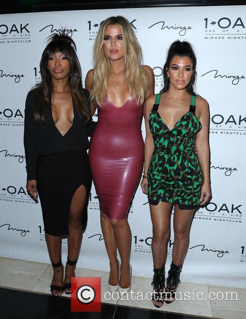 Malika Haqq, Khloe Kardashian and Kourtney Kardashian 2