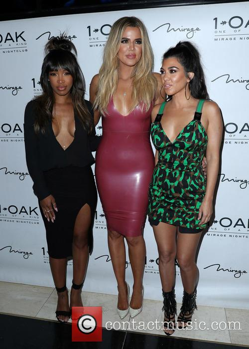 Malika Haqq, Khloe Kardashian and Kourtney Kardashian 4