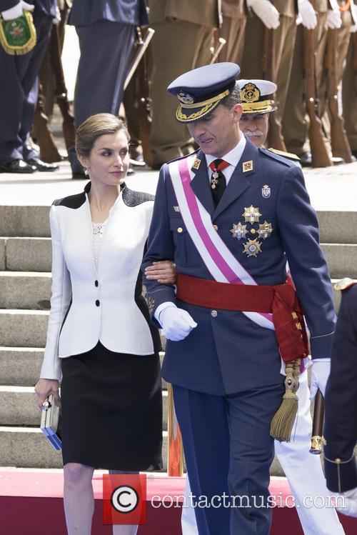 Queen Letizia Of Spain and King Felipe Vi Of Spain 9