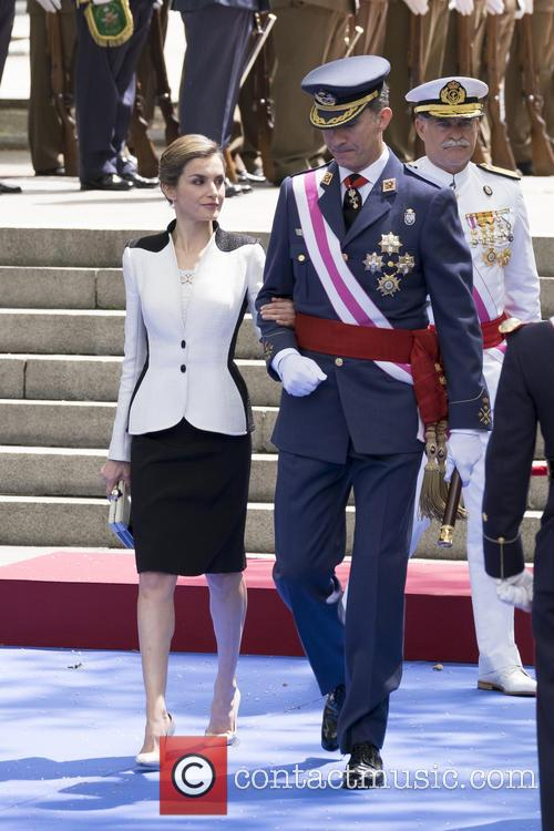 Queen Letizia Of Spain and King Felipe Vi Of Spain 10