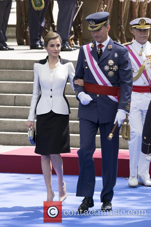 Queen Letizia Of Spain and King Felipe Vi Of Spain 11