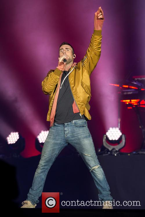 Adam Levine and Maroon 5 10