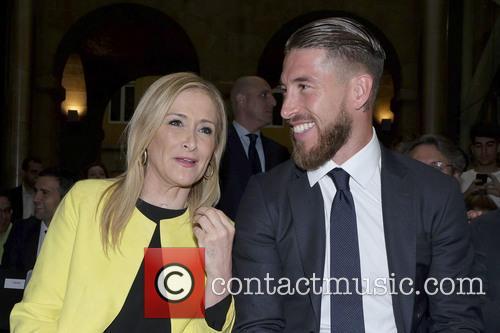 Real Madrid, Sergio Ramos and Cristina Cifuentes 3