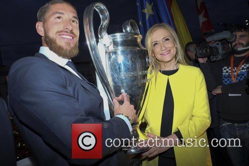 Real Madrid, Sergio Ramos and Cristina Cifuentes 6