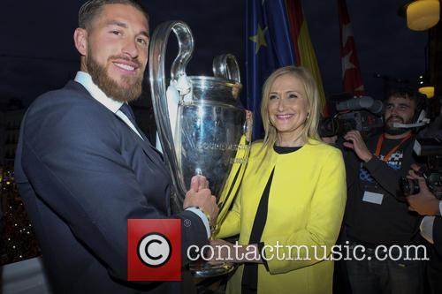 Real Madrid, Sergio Ramos and Cristina Cifuentes 7