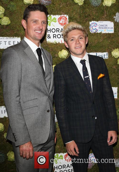 Justin Rose and Niall Horan 11
