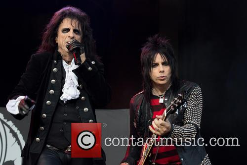 Alice Cooper, Tommy Henriksen and Hollywood Vampires 9