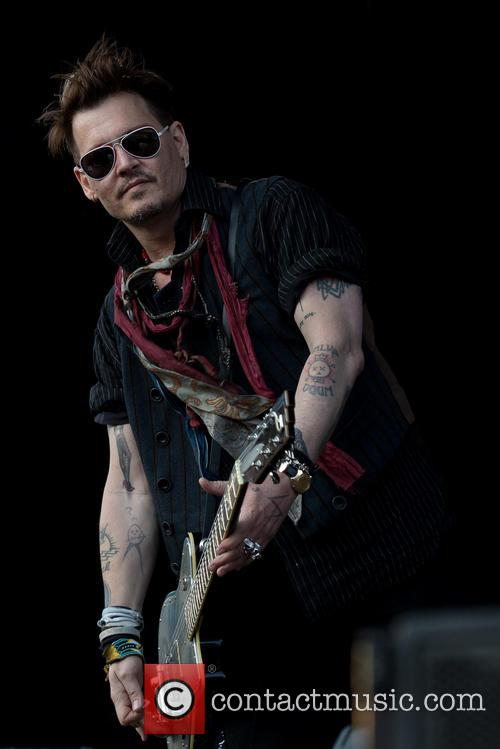 Johnny Depp and Hollywood Vampires 4