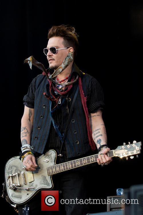 Johnny Depp and Hollywood Vampires 8