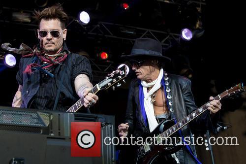 Johnny Depp, Joe Perry and Hollywood Vampires 10