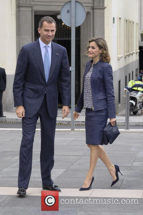 King Felipe Vi Of Spain and Queen Letizia Of Spain 1
