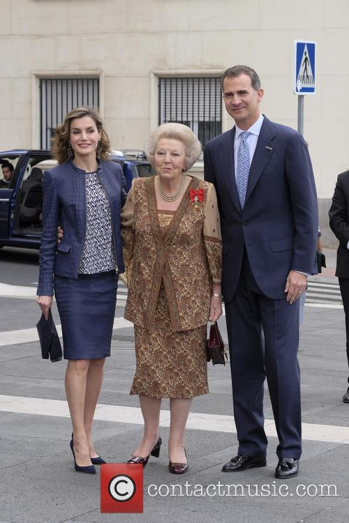 King Felipe Vi Of Spain, Queen Letizia Of Spain and Princess Beatrix Of The Netherlands 5