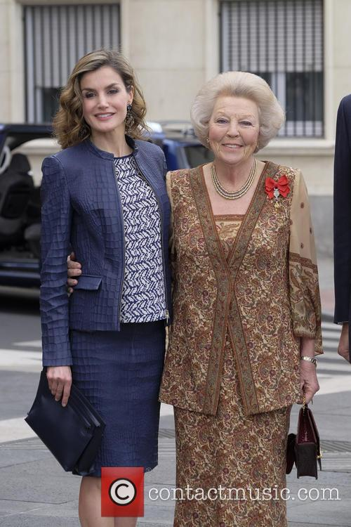 Queen Letizia Of Spain and Princess Beatrix Of The Netherlands 2