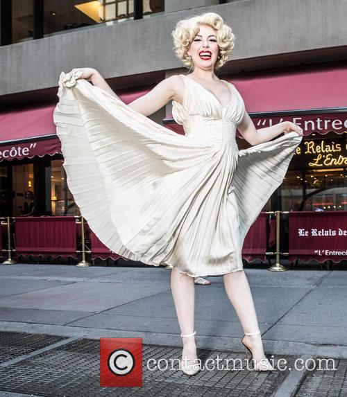 Marilyn Monroe and Anna Zand 2