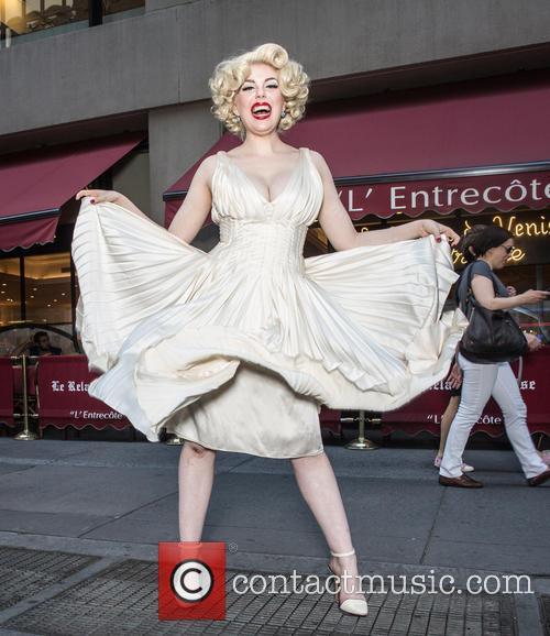 Marilyn Monroe and Anna Zand 5