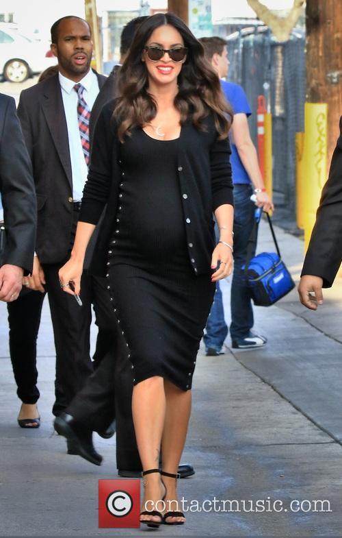 Megan Fox Believes Her Unborn Child Is A 'Super Genius'