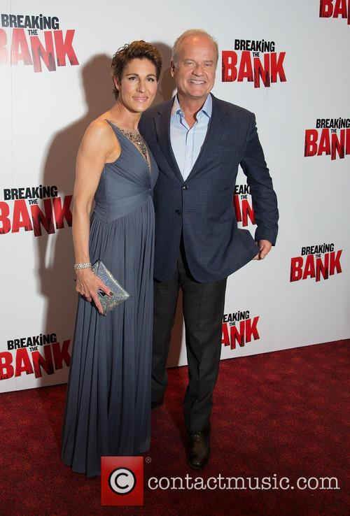 Tamsin Greig and Kelsey Grammer 2