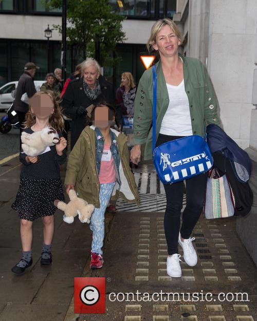 Zoe Ball, Nelly May Lois Cook and Woody Fred Cook 3