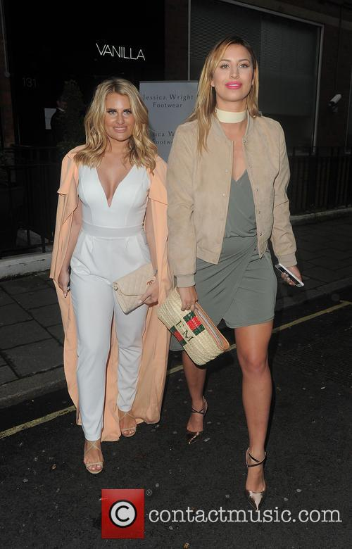 Danielle Armstrong and Ferne Mccann 2