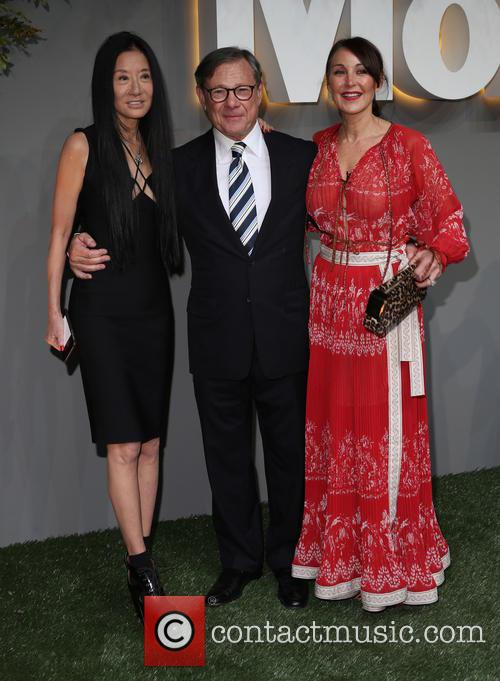 Vera Wang, Michael Ovitz and Tamara Mellon