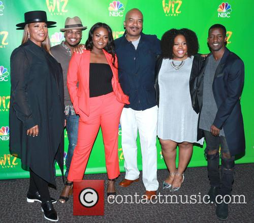 Queen Latifah, Ne-yo, Shanice Williams, David Alan Grier and Elijah Kelley 2