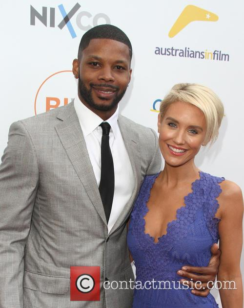 Kerry Rhodes and Nicky Whelan 1