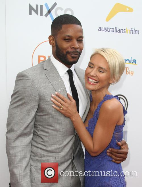 Kerry Rhodes and Nicky Whelan 2