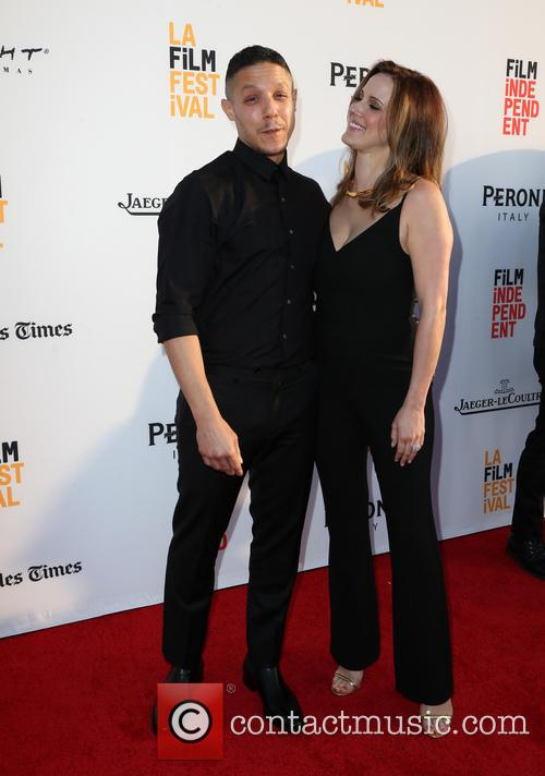 Theo Rossi and Meghan Mcdermott Rossi 1