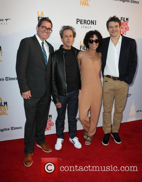 Josh Welsh, Brian Grazer, Stephanie Allain and Jason Blum 3
